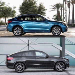 BMW X4 vs Mercedes GLC Coupe