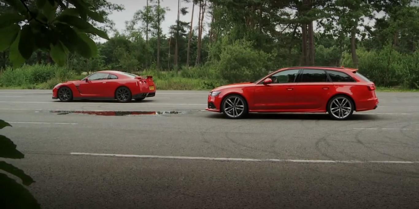 Drag Race Audi Rs6 Aniquila Nissan Gtr Motorspot Pt