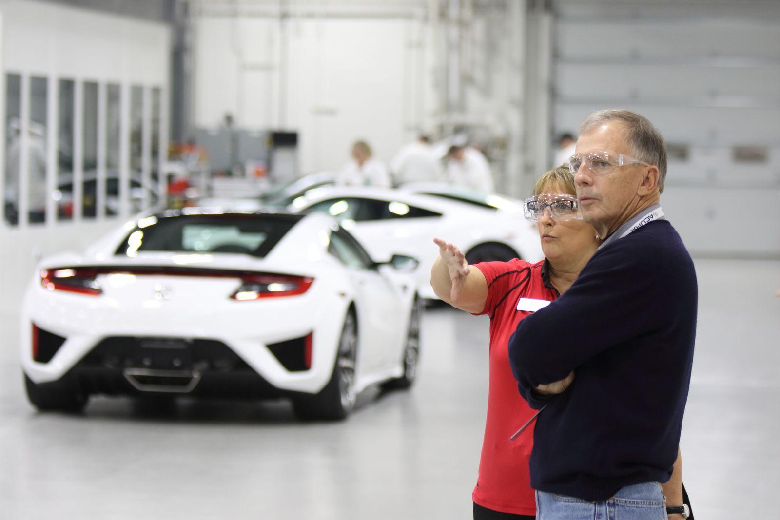 Acura NSX Insider Experience