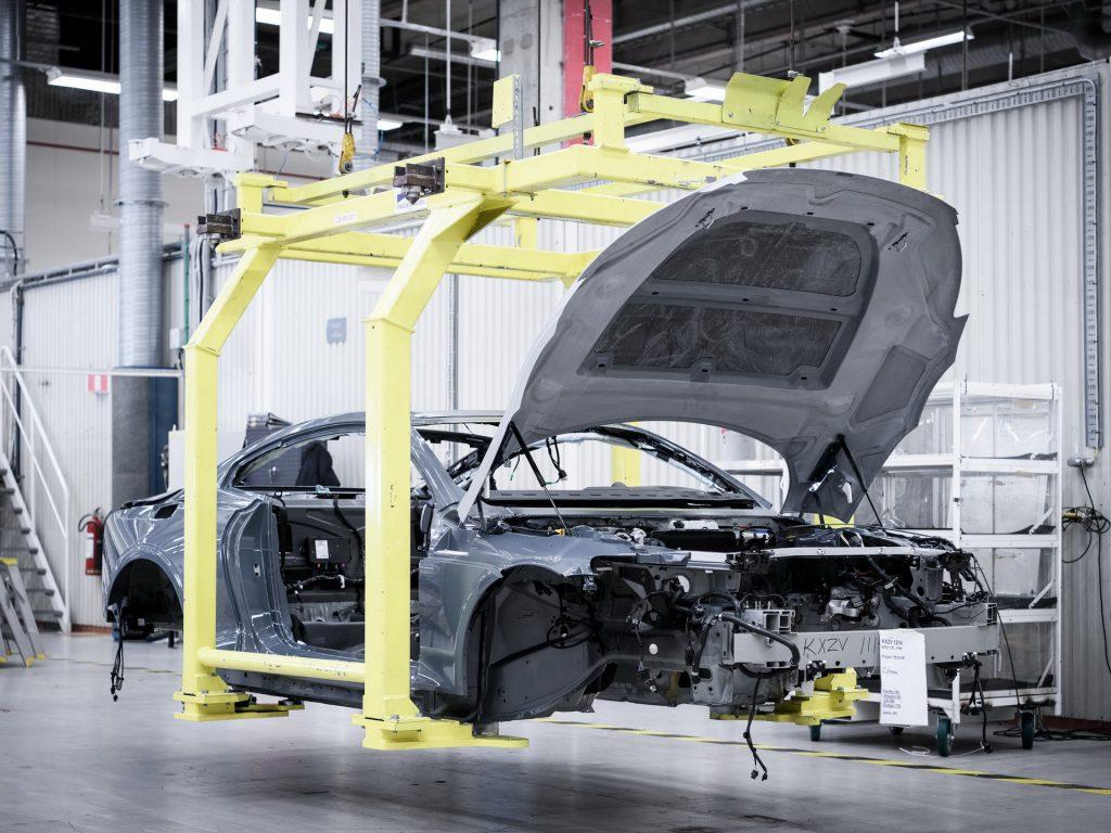 produção automóvel polestar