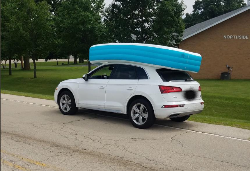 transportar piscina