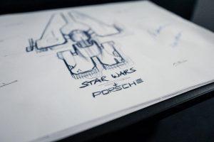 Porsche e star wars