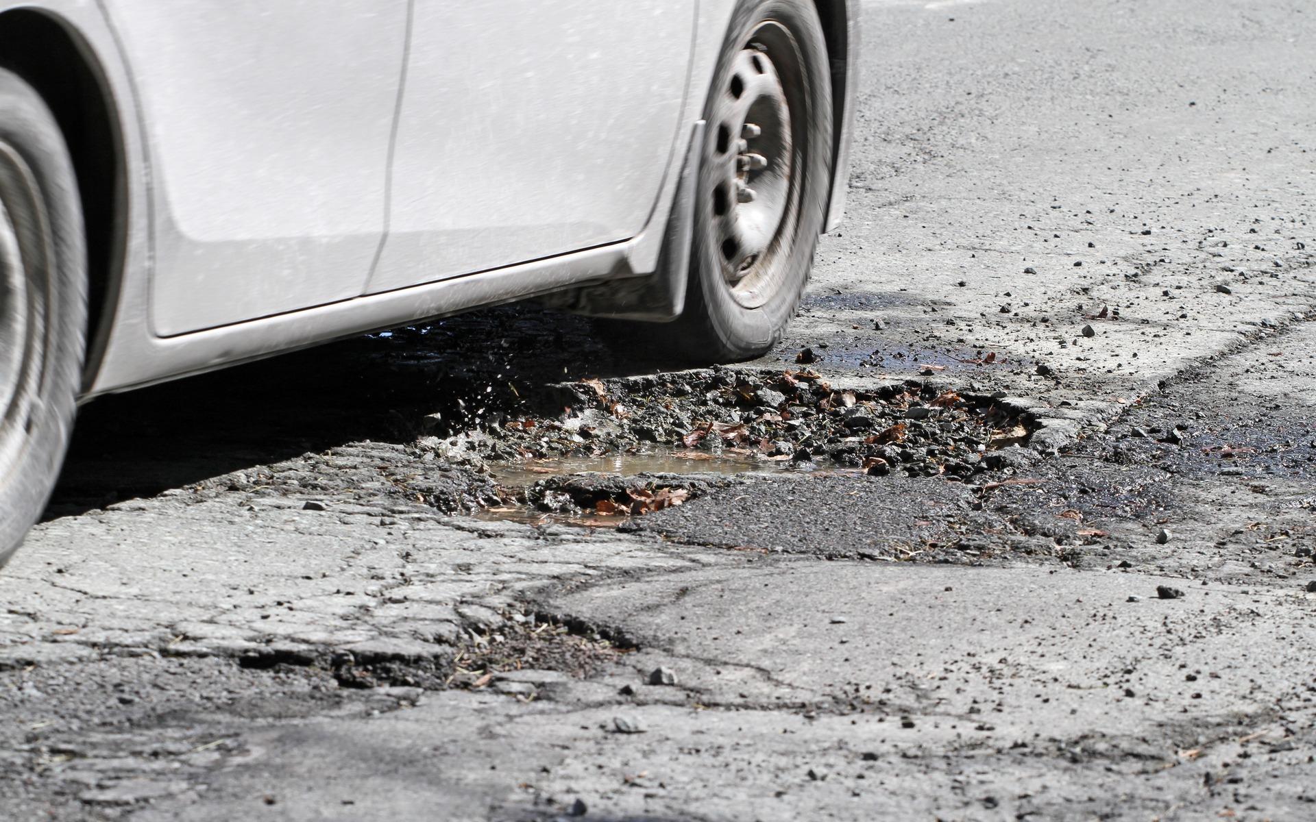 estradas danificadas