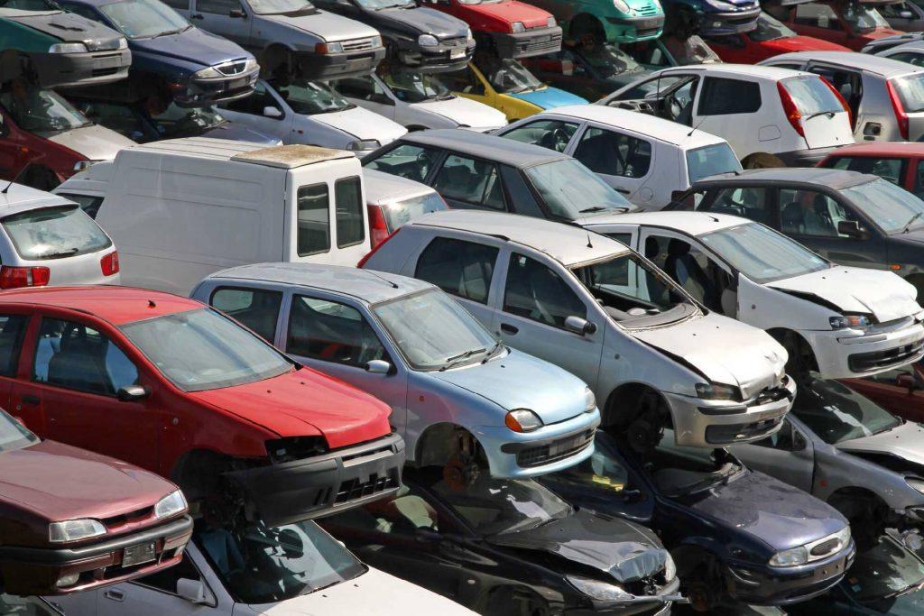Incentivos para o abate Parque automóvel