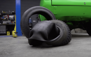 pneu do avesso